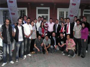 CHP'de gençlik dayanışması