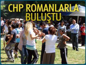 CHP İstanbul Romanlarla buluştu