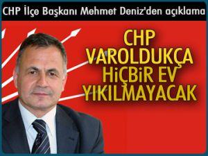 Mehmet Deniz'den açıklama