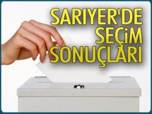 İŞTE SARIYER'DE SEÇİM SONUÇLARI