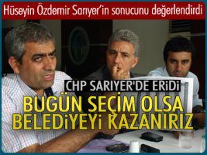 Özdemir, 'CHP Sarıyer'de eridi'