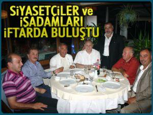 Y.Güngör Mutlu'dan dostlarına iftar