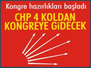 CHP 4 koldan kongreye gidecek