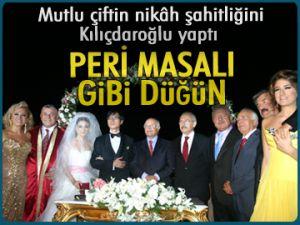 Peri masalı gibi düğün!