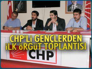 CHP'li gençlerden örgüt toplantısı