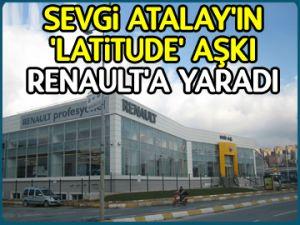 'Latitude' aşkı Renault'a yaradı