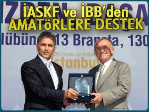 İASKF ve İBB'den amatörlere destek