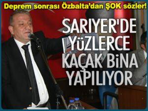 Özbalta'dan mecliste ŞOK sözler!