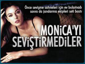 Monica'yı seviştirmediler...