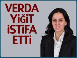 Verda Yigit istifa etti