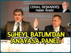 Süheyl Batum'dan anayasa paneli
