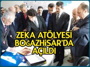 Zeka Atölyesi Boğazhisar'da açıldı