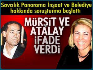 Murşit ve Atalay ifade verdi