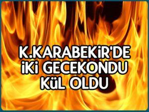 Kazım Karabekir'de yangın