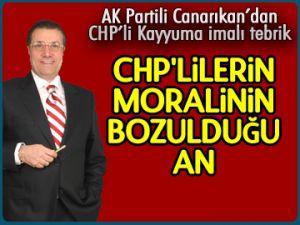 CHP'lilerin moralinin bozduğu an