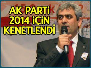 AK Parti 2014 için kenetlendi