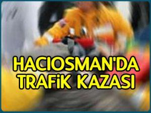 Hacıosman'da trafik kazası: 7 yaralı