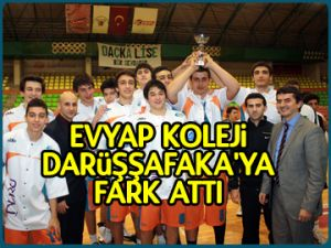 Evyap, Darüşşafaka'ya fark attı