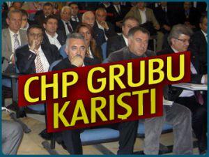 Mecliste CHP grubu karıştı