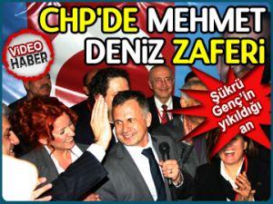 CHP'de Mehmet Deniz zaferi!