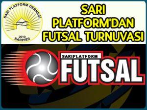 Sarı Platform'dan futsal turnuvası