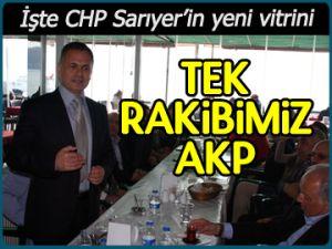 İşte CHP Sarıyer'in yeni vitrini