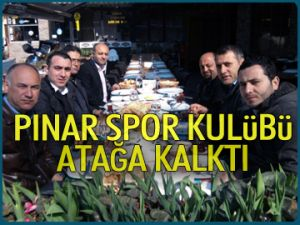 Pınar Spor Kulübü atağa kalktı