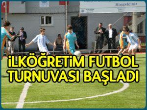 İlköğretim Futbol Turnuvası başladı