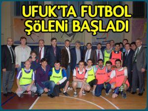 Ufuk'ta futbol şöleni başladı