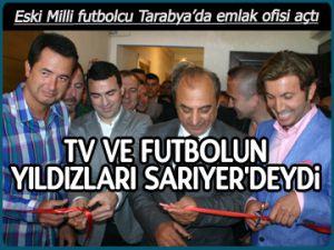 Futbolun yıldızları Sarıyer'deydi