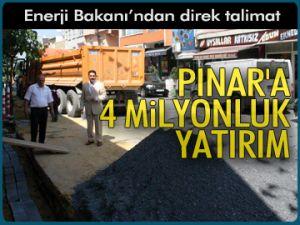 Pınar'a 4 milyonluk yatırım