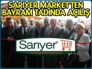 Sarıyer Market 11. şubesini açtı