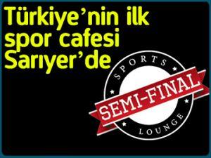 Türkiye'nin ilk spor cafesi