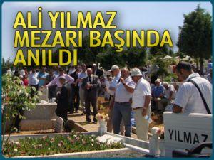 Ali Yılmaz mezarı başında anıldı