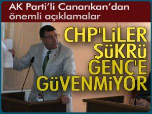CHP'liler Şükrü Genç'e güvenmiyor