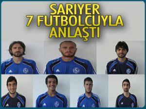 Sarıyer 7 futbolcuyla anlaştı