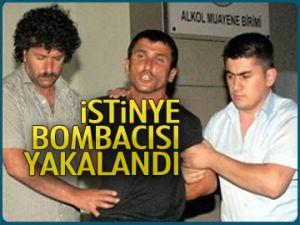 İstinye bombacısı yakalandı