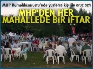 MHP'den her mahallede bir iftar