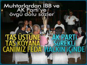 İBB ve AK Parti'ye övgü dolu sözler