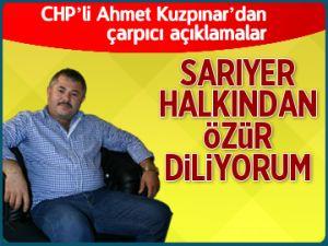 CHP'li Kuzpınar özür diledi!