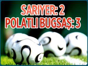 Sarıyer 2 - 3 Polatlı Bugsaş