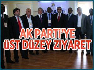 AK Parti'ye üst düzey ziyaret