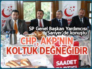 """""""CHP, AKP'nin koltuk değneğidir"""""""