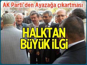 AK Parti'den Ayazağa çıkartması