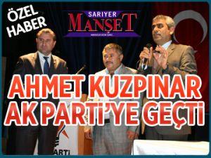 Ahmet Kuzpınar AK Parti'ye geçti
