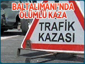 Baltalimanı'nda ölümlü kaza