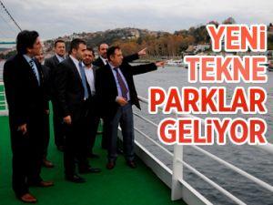 Yeni tekne parklar geliyor