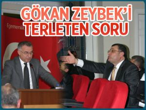 Gökan Zeybek'i terleten soru!