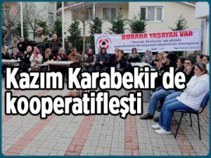 Kazım Karabekir de kooperatifleşti