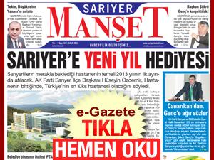 Sarıyer Manşetin 44.sayısı çıktı